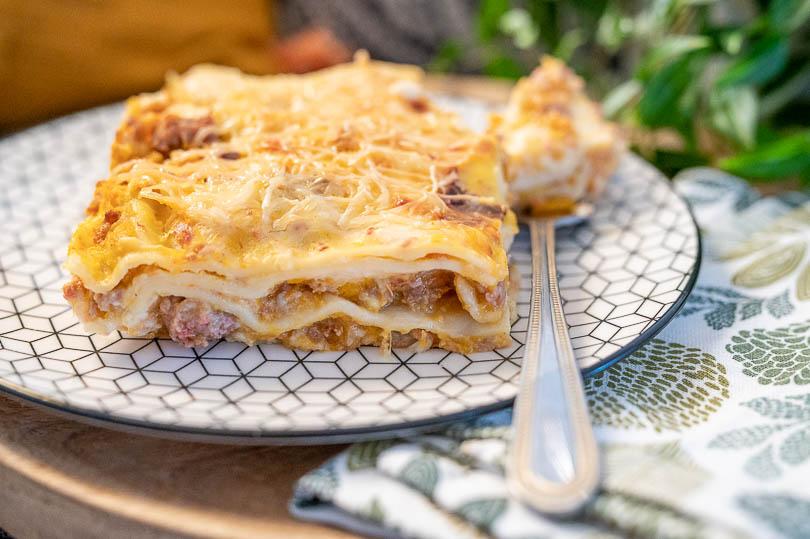 recette Lasagnes à la courge maison