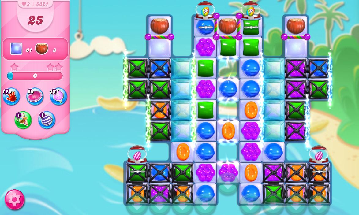 Candy Crush Saga level 5321