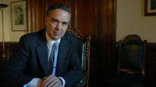 Miguel Ángel Pichetto, jefe de la bancada del PJ en el Senado