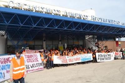 Ηγουμενίτσα: «Καραβάνι» αλληλεγγύης από 200 Ιταλούς  Μεταφέρουν ανθρωπιστική βοήθεια στους πρόσφυγες