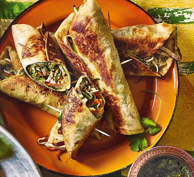 Mumbai Rolls Recipe