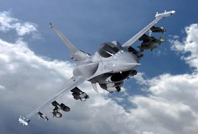 F-16 Variant Electronic Warfare