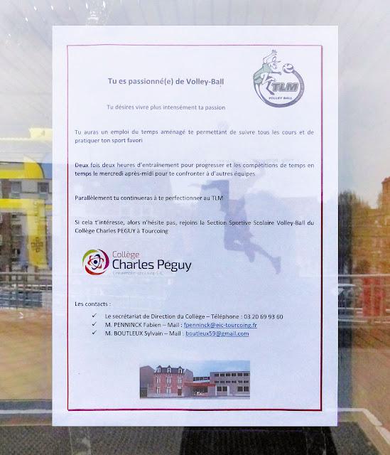 Collège Péguy Tourcoing - Volley Ball