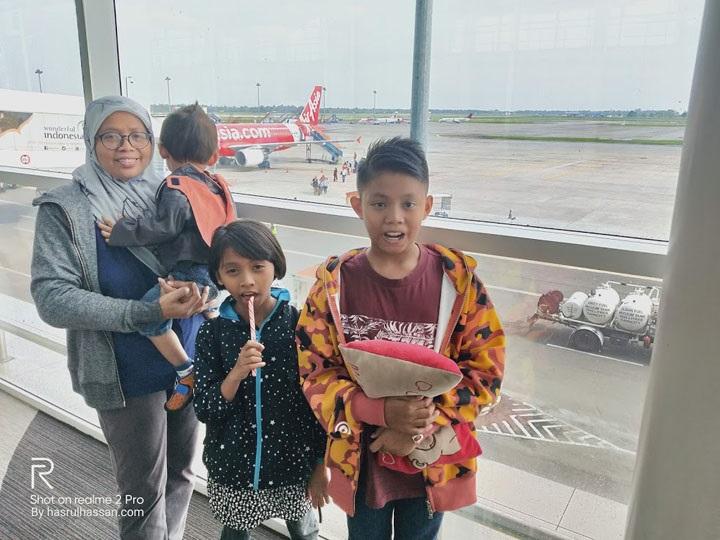 Percutian Keluarga ke Medan, Indonesia
