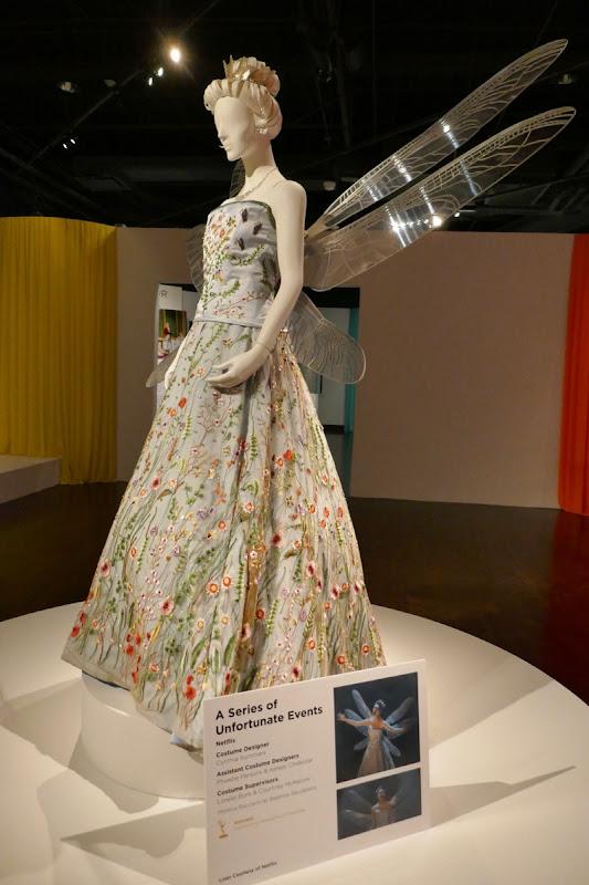 Series Unfortunate Events Beatrice opera dress wings