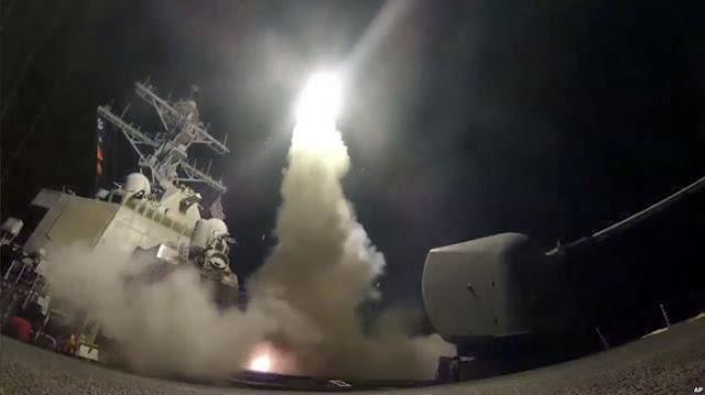 Perang Suriah akhirnya meletus? Rusia kutuk serangan Amerika-Inggris-Prancis