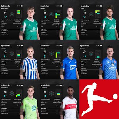PES 2021 Bundesliga Facepack V4 by I3ens