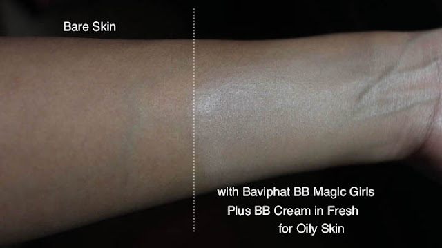 Baviphat BB Magic Girls Plus BB Cream Review