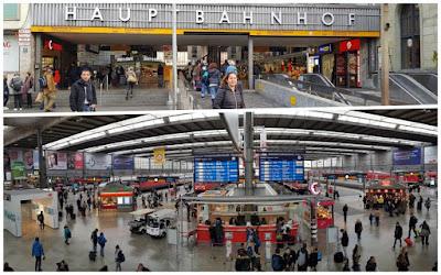 estación central Hauptbahnhof