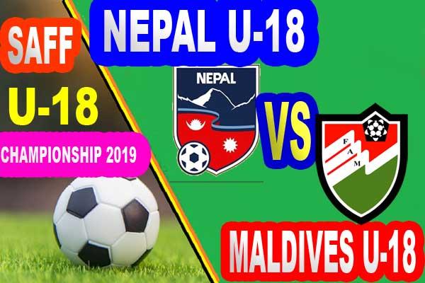 Nepal U18 vs Maldives U18