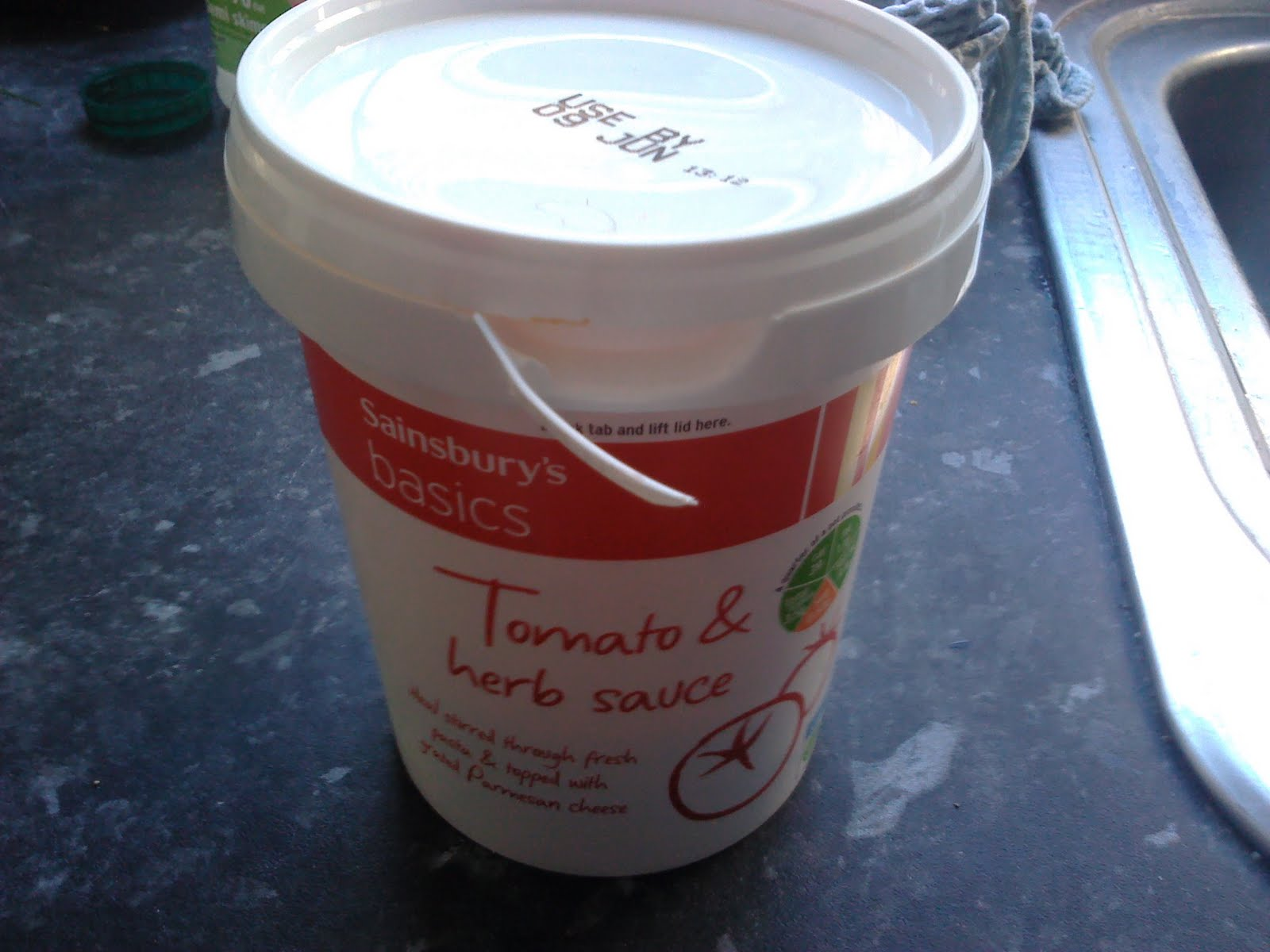 Back To Sainsbury S Basics Tomato And Herb Pasta Sauce