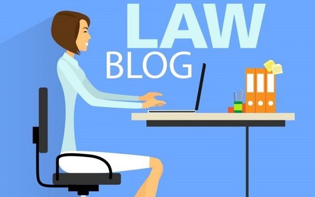 law blog legal blogger lawyer articles attorney blogging