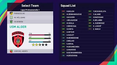 Algerian league pes21 sp21