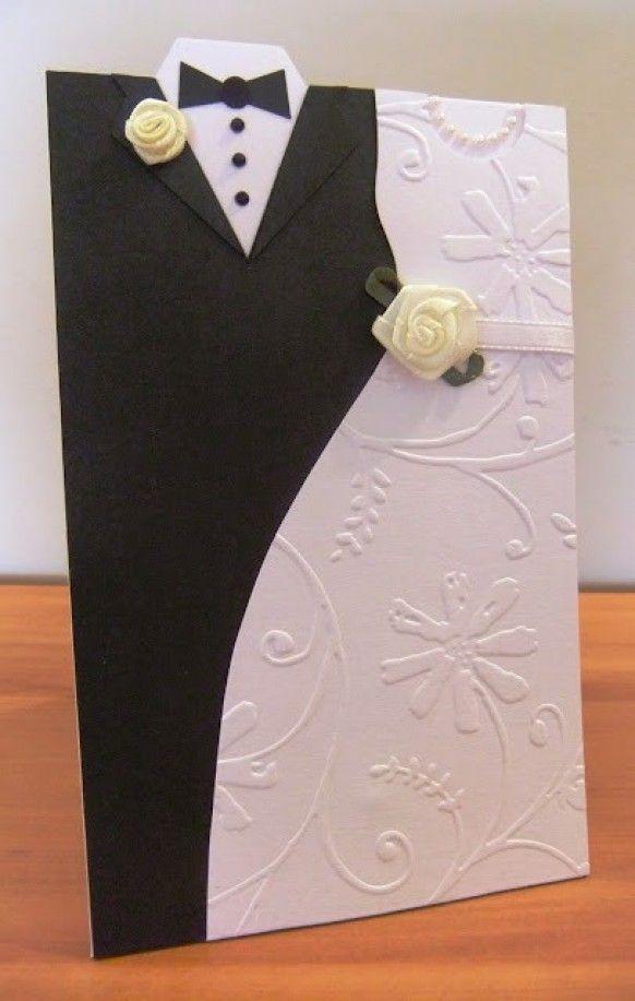 Dwell Of Decor: 15 Bride And Groom Wedding Invitation Cards