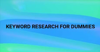 keyword research for dummies