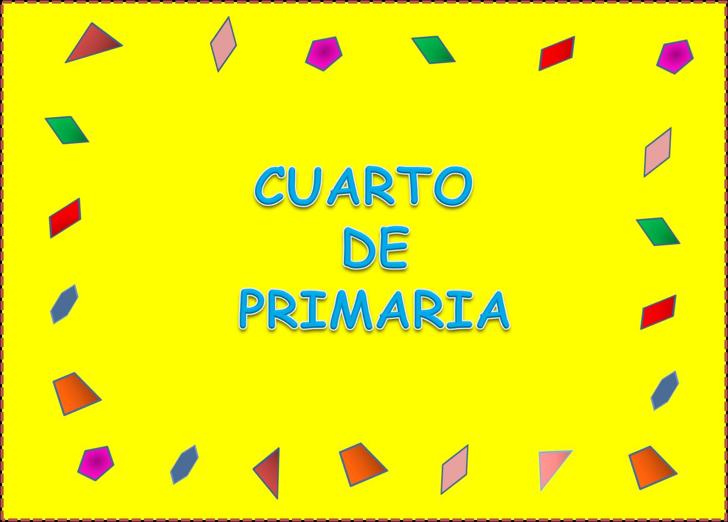 4º cuarto de primaria