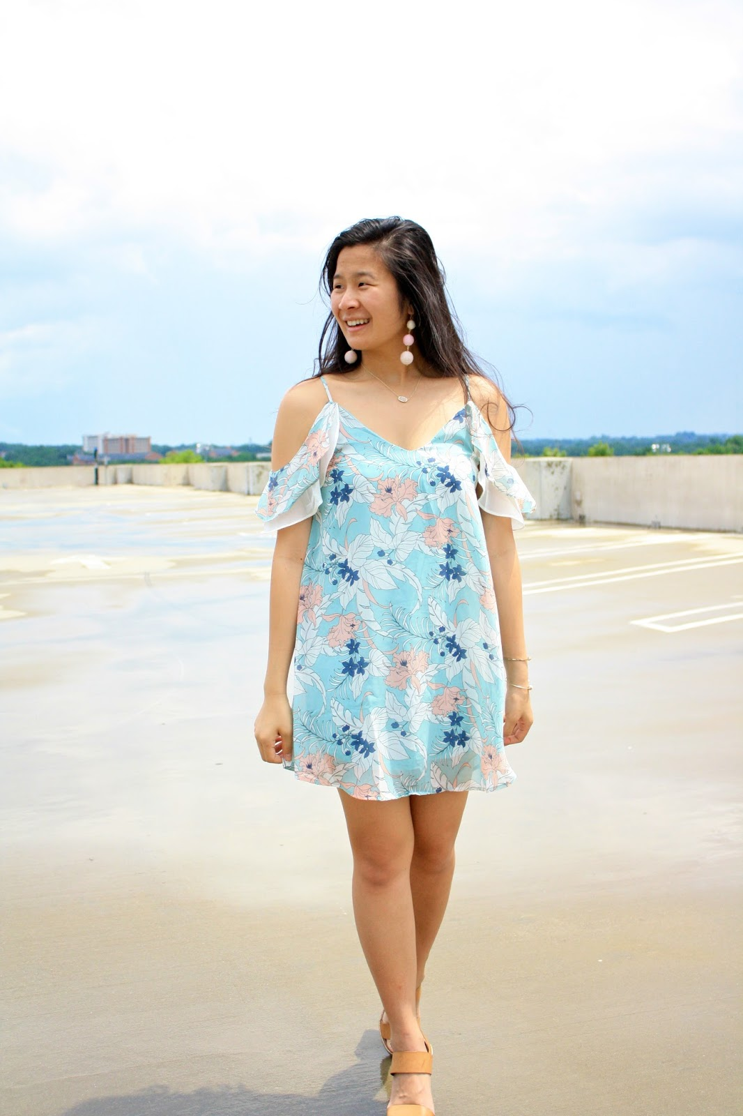 Styling a pastel dress