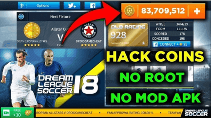 Free Download Dream League Soccer Mod Apk + Unlimited Coins For Android