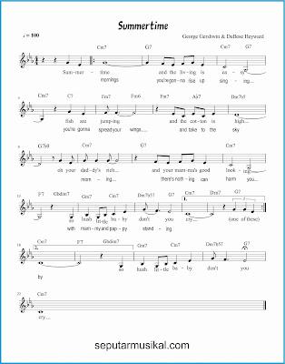 summertime lagu jazz standar