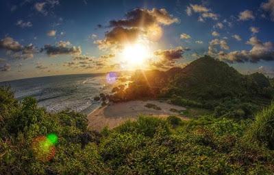 wisata pantai ngrumput gunung kidul yogyakarta