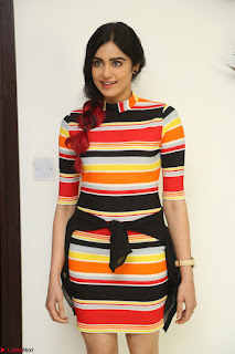 Adha Sharma in a Cute Colorful Jumpsuit Styled By Manasi Aggarwal Promoting movie Commando 2 (155).JPG