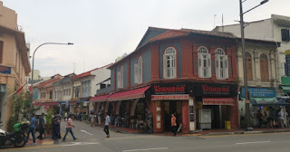 Barrio Indio o Little India, Singapur.