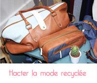 Hacter la mode recyclée pour les hommes