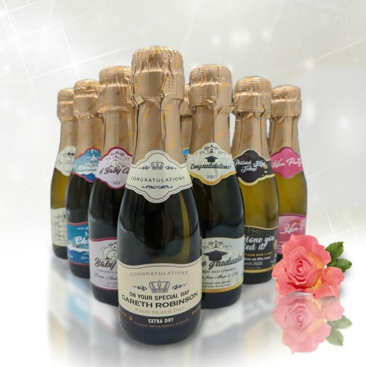 personalised champagne