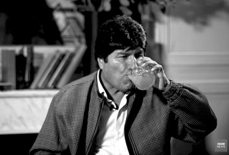 Morales salió de sus casillas en una entrevista con BBC en la que reiteró que fue