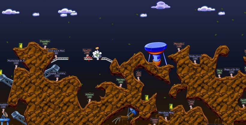 Worms World Party Remastered PC Full Español