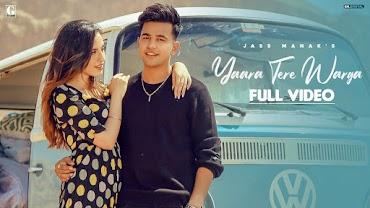 यारा तेरे वरगा Yaara Tere Warga Lyrics in Hindi - Jass Manak