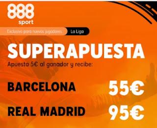 888sport superapuesta el clasico Barcelona vs Real Madrid 24-10-2020