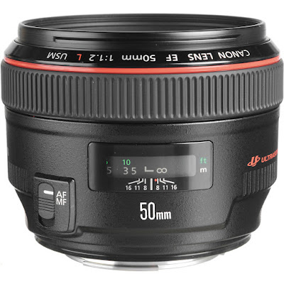 Canon EF 50mm f/1.2 L Lens