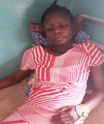 pregnant woman attacked police station abeokuta