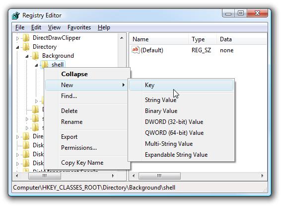 Menambah Sembarang Aplikasi ke Menu pintas klik kanan Desktop-gambar 2