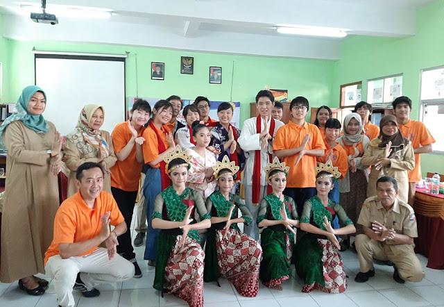 Pelajar Jepang Ke Indonesia, Besok Akan Berkunjung Ke Masjid Istiqlal