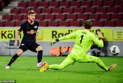 Video Koln 2-4 RB Leipzig: Tưng bừng 6 bàn, đón 2 kỷ lục