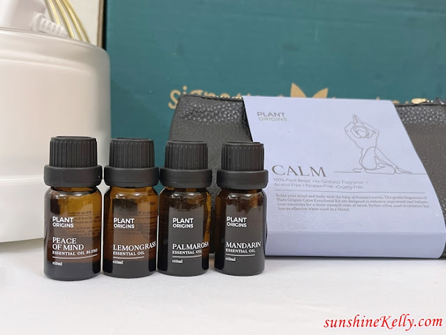 Plant Origins, Functional Kit Essential Oils, Bluetooth Diffuser, Personal Care, Aromatherapy Better Wellbeing, Signature Market, Lifestyle