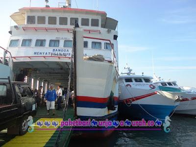 kapal express dan kapal feri siginjai karimunjawa