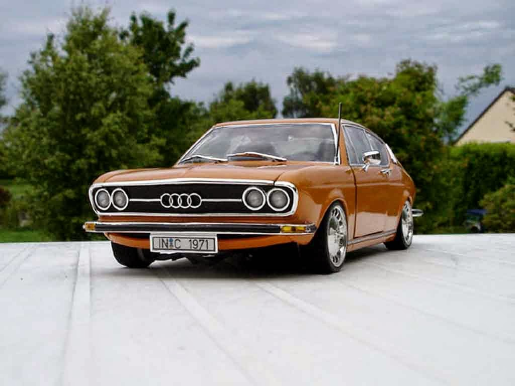 Audi Cars : Audi 100 S C1 Coupe (1968-1976)