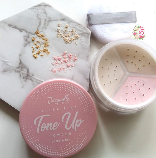 Inside Jacquelle Tone Up Powder