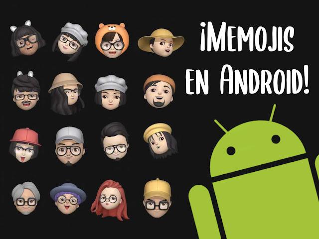 Memojis en tu dispositivo Android