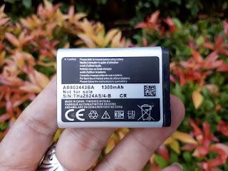 Baterai Samsung C3350 Xcover 2 AB803443BA 1300mAh