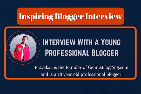 Inspiring Blogger Interview