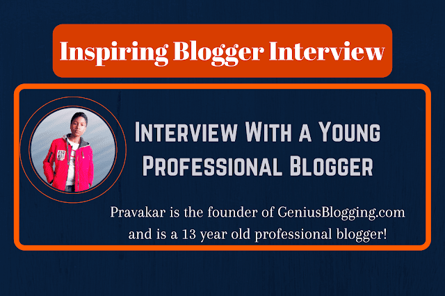 Inspiring Interview With a 13-Year-Old Successful Blogger