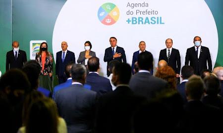 Agenda Prefeito + Brasil: Hildo Rocha participa de evento municipalista promovido pelo governo Bolsonaro!!!