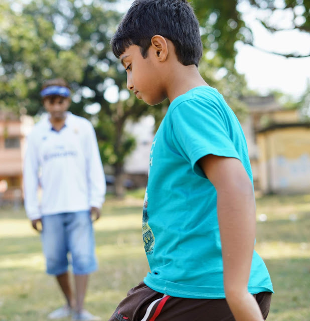 Sourajit Saha and Rick Playing Football 12