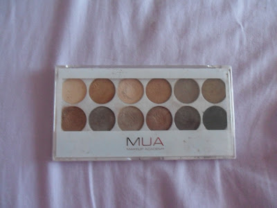 MUA undress me to palette