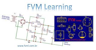 Fonte para Bancada Ajustável de 1.2 ~ 32V e 5 Amperes + PCI