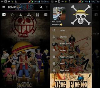 BBM Mod One Piece New Version 3.2.5.12 Full Apk Terbaru